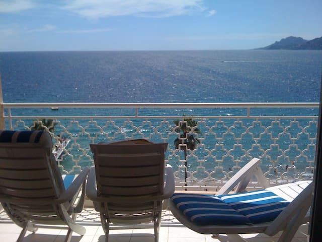 Vue mer féerique & terrasse - Cannes - Appartement