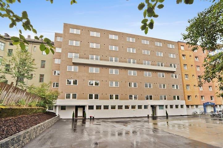 Modern aprtmnt, next to bus stop - Trondheim - Apto. en complejo residencial