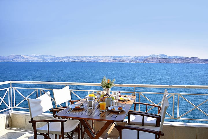Waterfront Apartment, near Nafplio, Mycenae