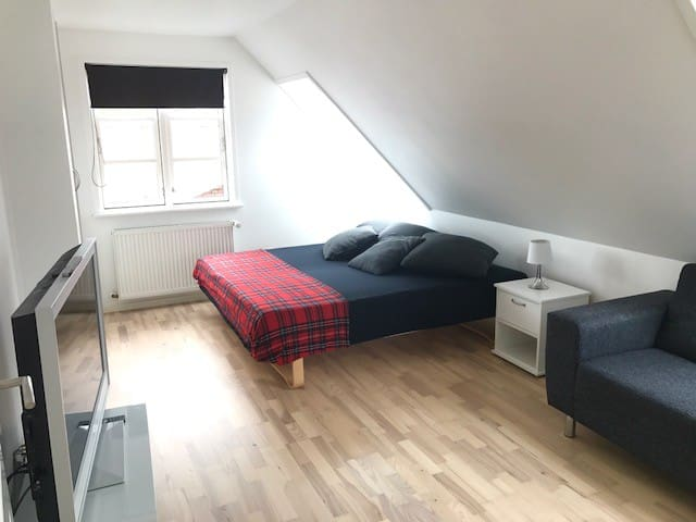 2rooms 30min from CPH and close to Roskilde, Køge