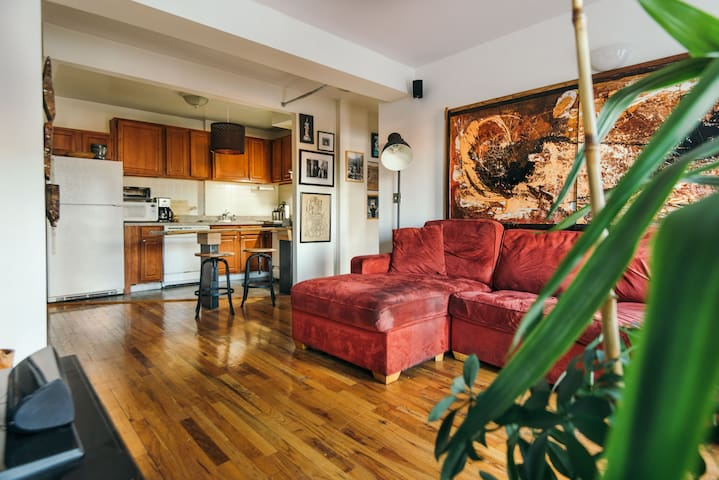 Private 1 bed/office Brooklyn Apt - Brooklyn - Condominio