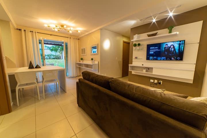 Maravilhoso Apartamento na Praia da Pipa