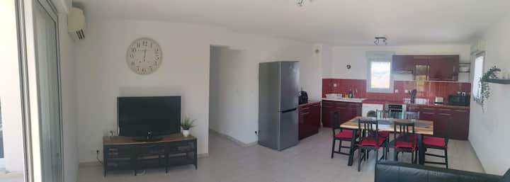 Très bel appartement à L'Isle sur la Sorgue