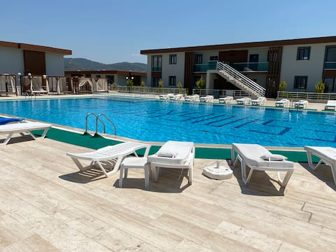 Bodrum villa millas piscine privé