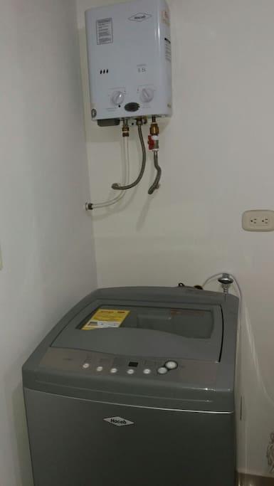Lavadora-Calentador