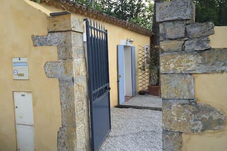 Charmant studio indépendant à Brignoles - Brignoles - Apartemen