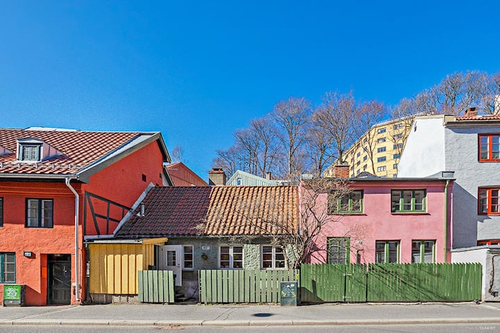 Unique townhouse in Central Oslo