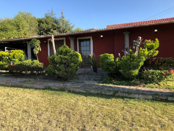 Country home near Puebla city