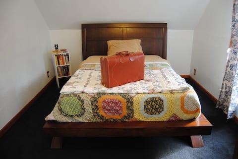 Burlington Queen Master Bedroom + Home Amenities