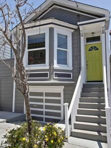 Sunny Victorian One-Bedroom House - San Francisco - House