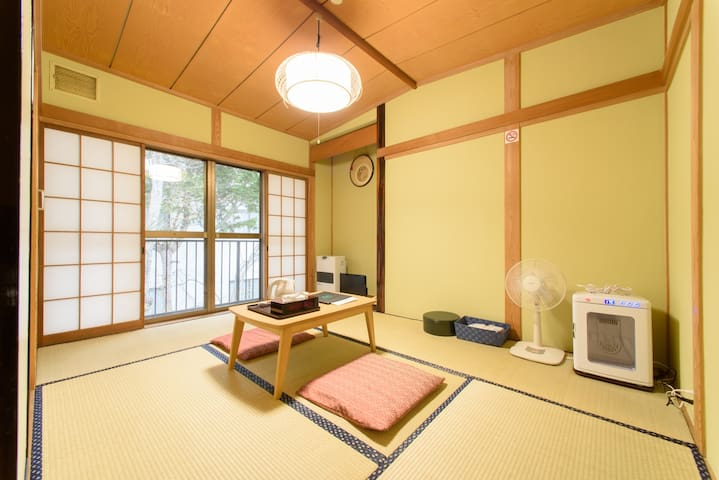Japanese Inn in the Woods/2P/Karuizawa Sta 15min