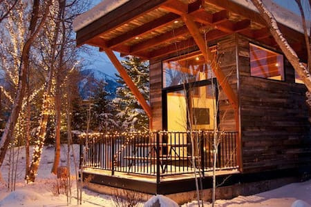Summer/Ski Cabin with Teton Views - 威爾遜 - 小屋