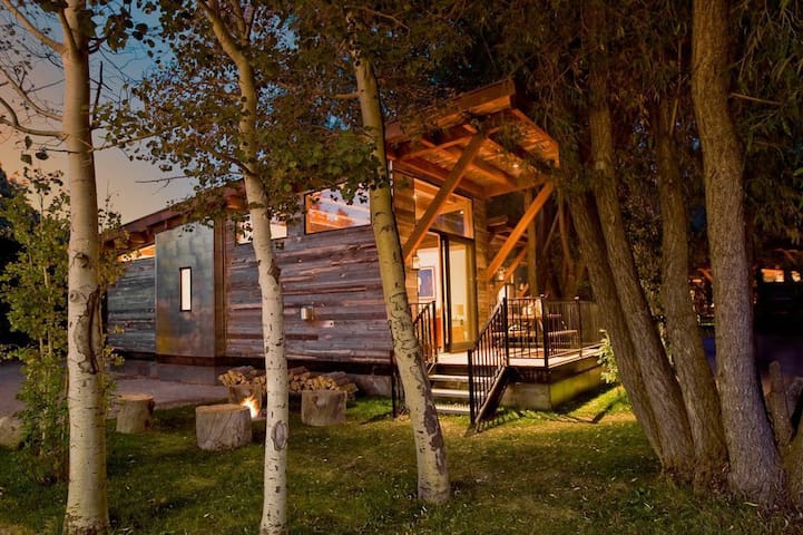 Summer/Ski Cabin with Teton Views - Wilson - Chatka