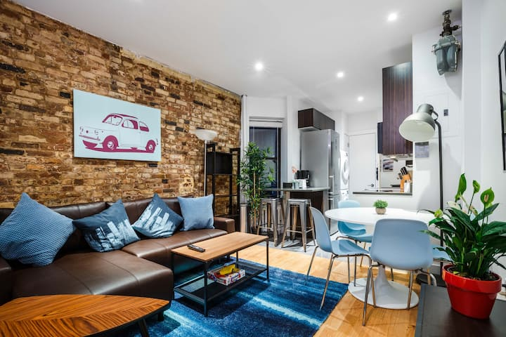 Incredible Nolita 1BR Apartment in the NYC Center