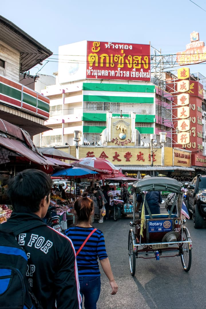 Chiangmai China Town market