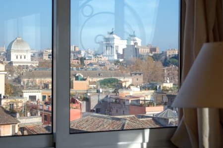 ROME TO 360° STAYING IN PENTHOUSE