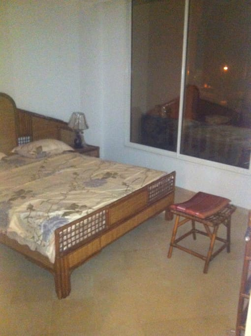 one of the three rooms. Parental suit