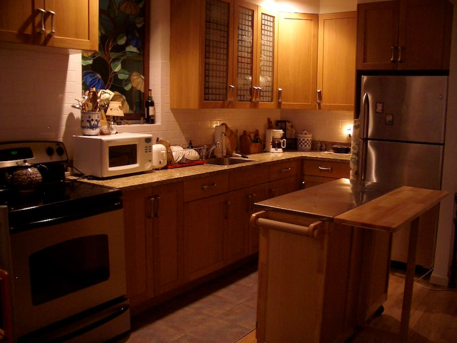 Full kitchen for your exclusive use