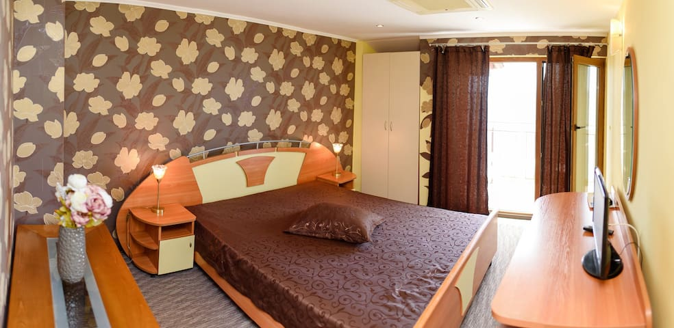 Delux Double room with Sea View