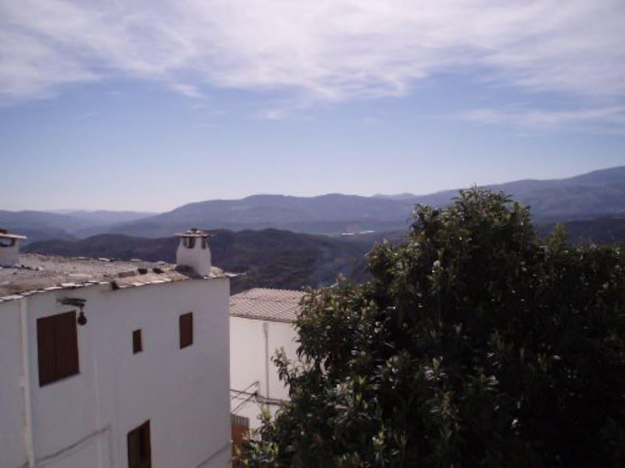 Las vistas desde la Casa Los Telares