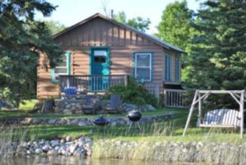 2BR Cabin on a Crystal Clear Lake (#1)