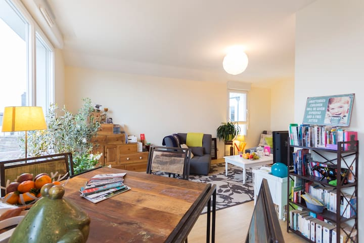 Ideal location to discover Nantes - Nantes - Wohnung