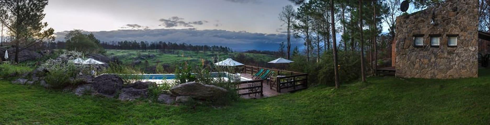 Terrazas al bosque de Calamuchita - Villa General Belgrano - Haus