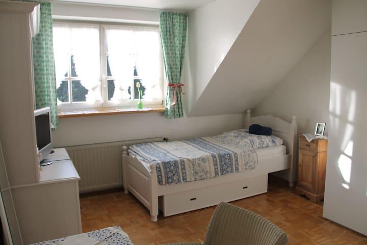 Zentral gelegenes Zimmer in der Nähe von Köln