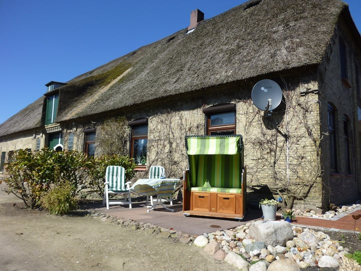 Cozy home under the thatched roof