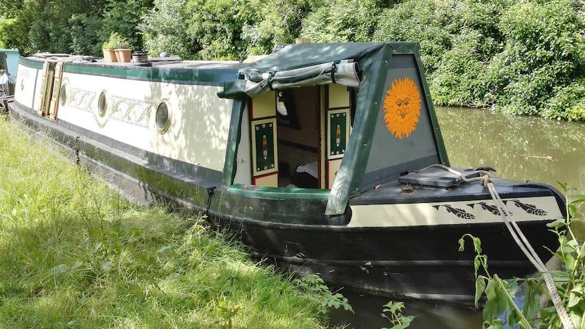 Oxford Traditional Narrowboat - Oxford - Barco