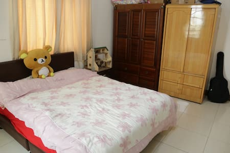 小魚的舒適的雙人房間Nice room in Pintung City - House