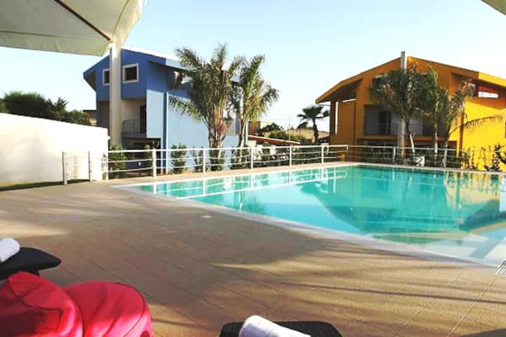 Villa per Vacanze in Sicilia con piscina - Sciacca