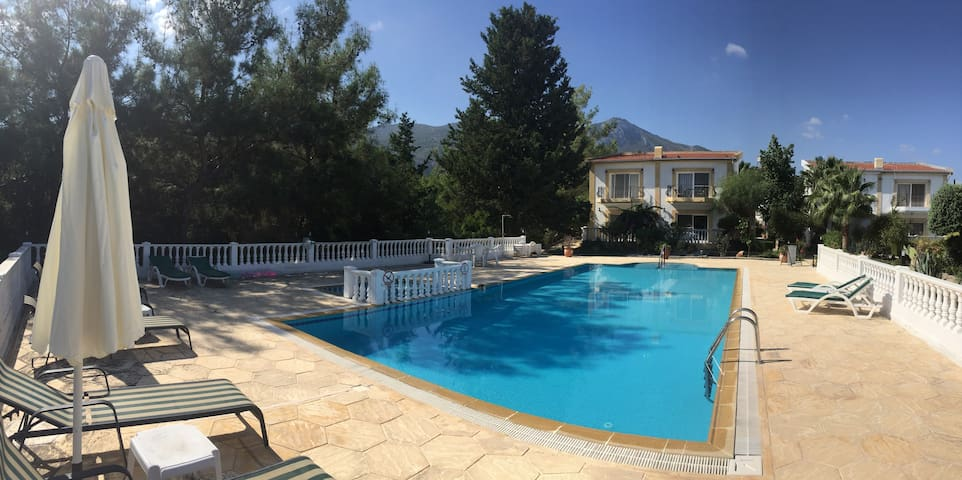 Villa in Kyrenia area, surrounded by olive groves