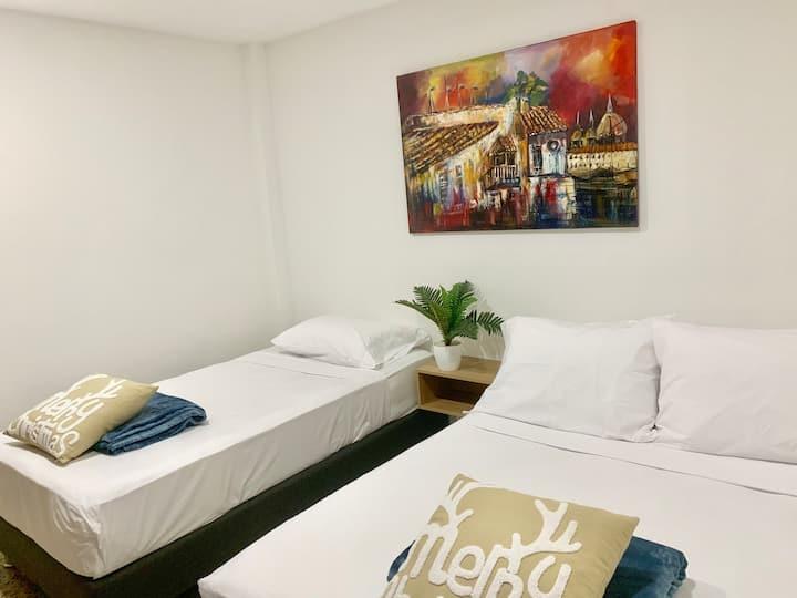 HABITACIÓN TWIN+ - ANDAGI HOTEL CTG