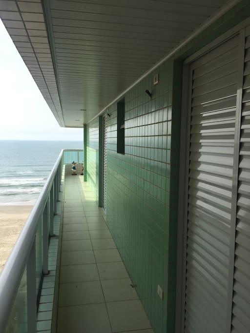 Suites com varanda