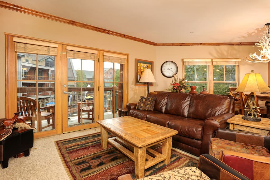 Enjoy luxurious mountain-inspired furniture