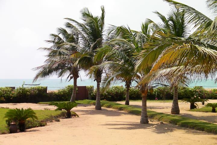 Villa Entiére 2 chambres  Bord de mer à Grand Popo