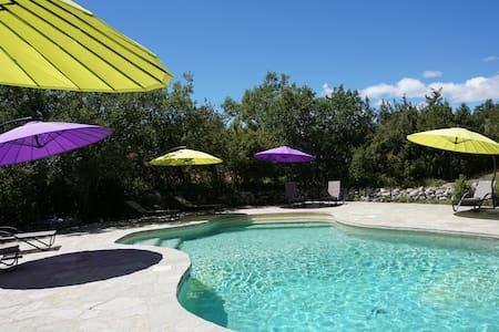 Provence gîte 4p tennis piscine  - Simiane-la-Rotonde