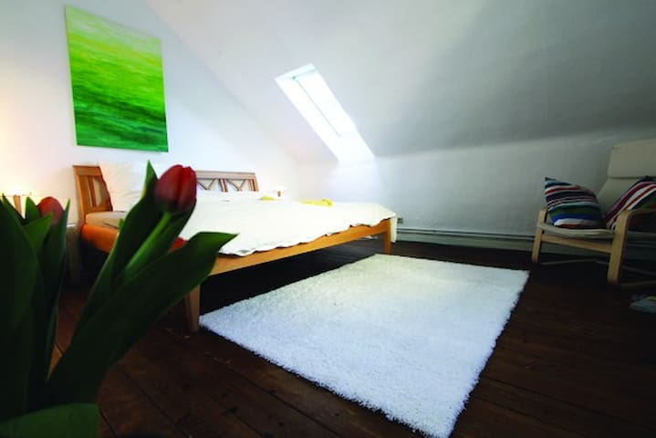 Ruhiges, großes, zentrales Zimmer - Göttingen - Apartamento
