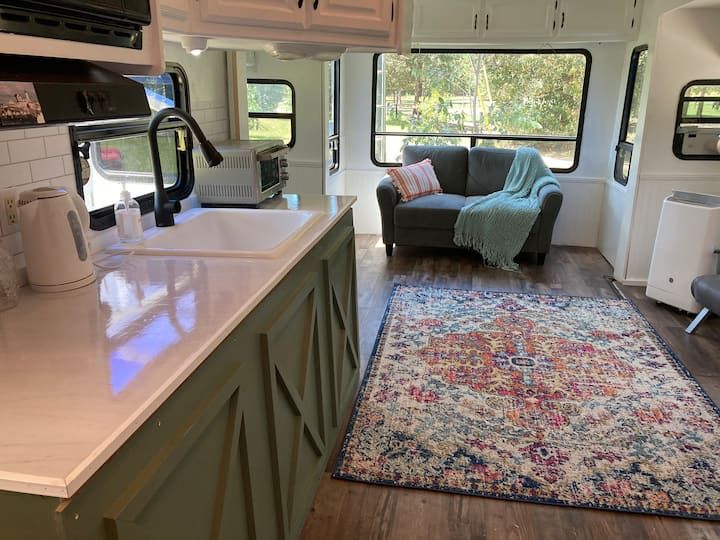 The Tiny House at Looking Glass Farm
