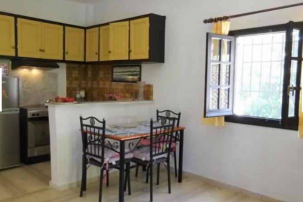 Open plan kitchen/living room/dining room