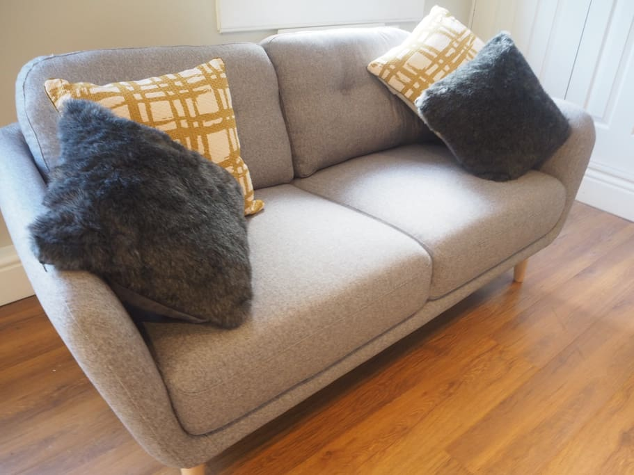 Two comfortable two seater sofa's