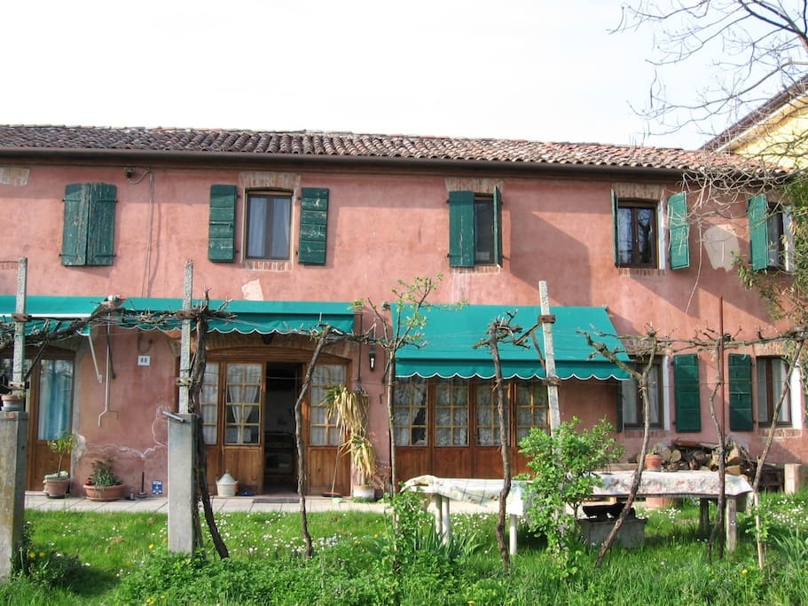 Organic country guest house venice houses for rent in for Rent a home in italy