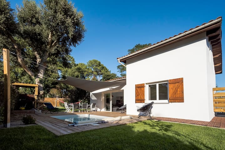 Modern Villa with heated pool - Soorts-Hossegor - Huis