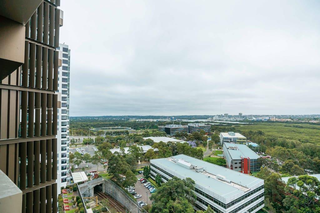 Appartement moderne avec vue sur la ville olympic park - Appartement de ville vue ocean sydney ...