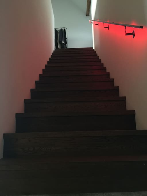 Staircase to upper floor