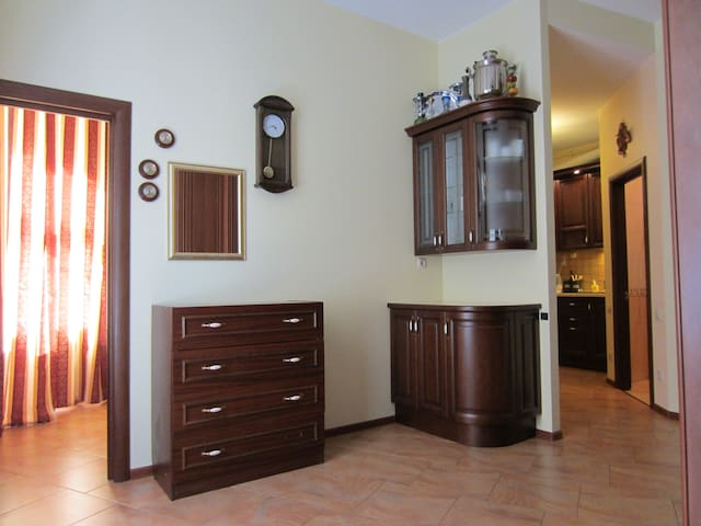 Квартира с камином в доме Шаляпина - Санкт-Петербург - Apartamento