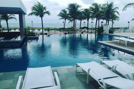 Lindo Flat-Resort em Natal/RN à beira-mar. - Парнамирин - Квартира