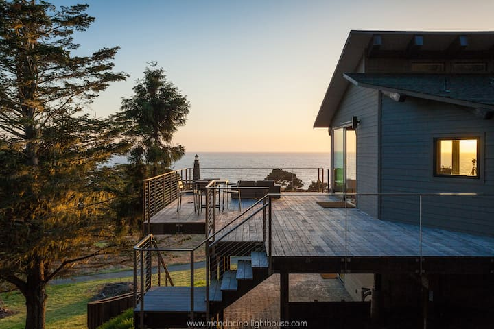 MendocinoLighthouse-seaside retreat - Mendocino - Huis