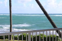 THIS IS YOUR VIEW FROM THE LANAI